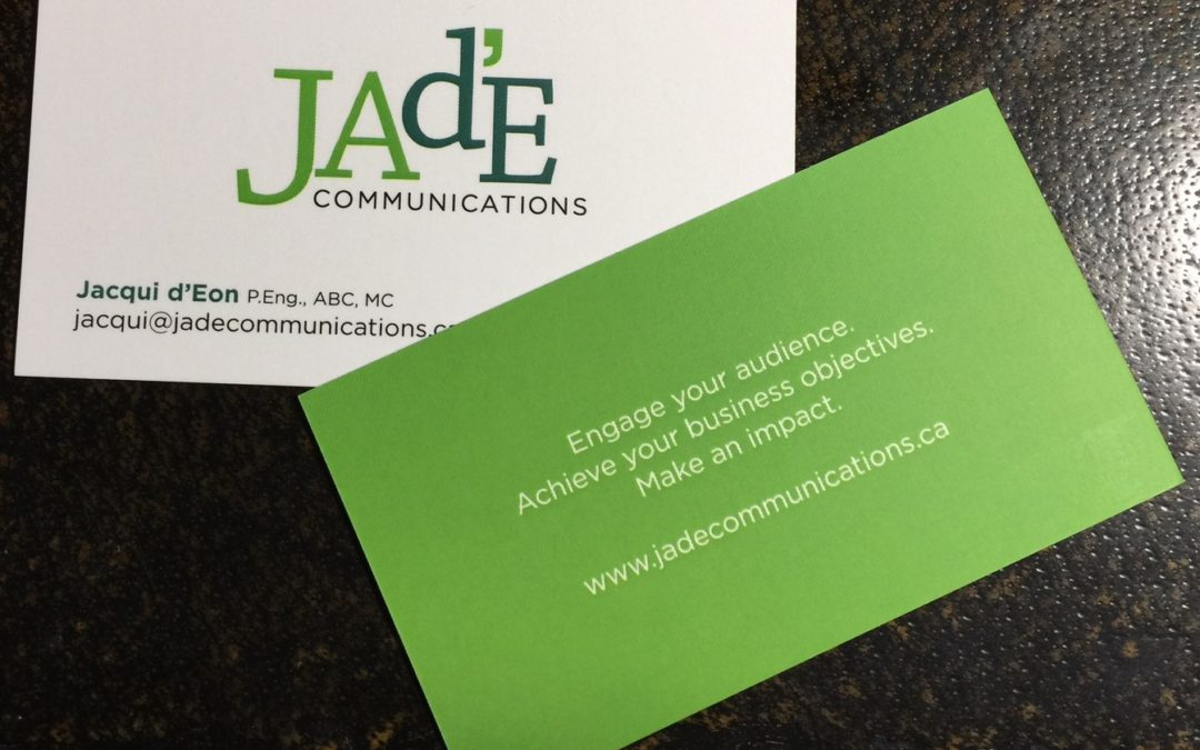 Is the business card still needed?